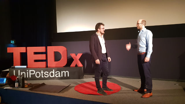 Speaker training at TEDxUniPotsdam