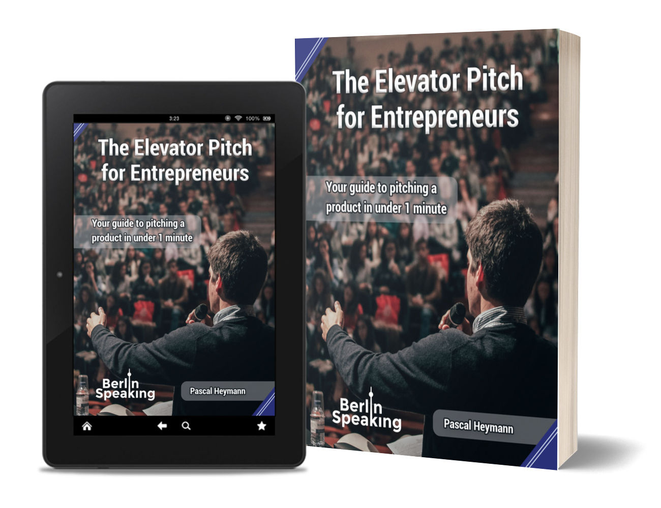 The Elevator Pitch for Entreprenuers Cover